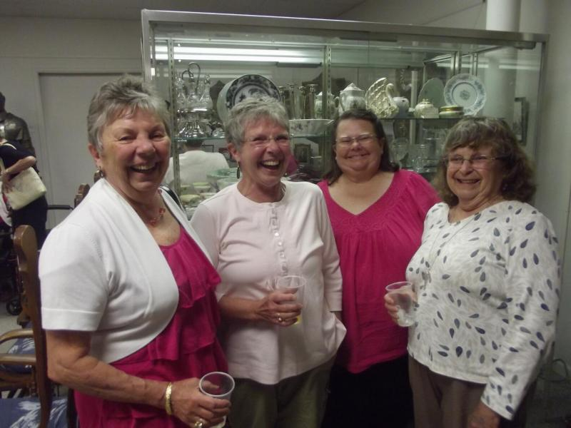 Nellie's four daughters -- Mary Lou, Linda, Nancy and Joanna.