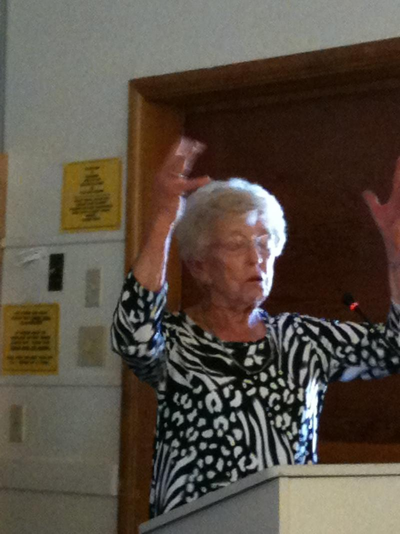 Dorothy Dunfelder tells a story about the difference electricity made in her rural Delta County home in the 1930s.