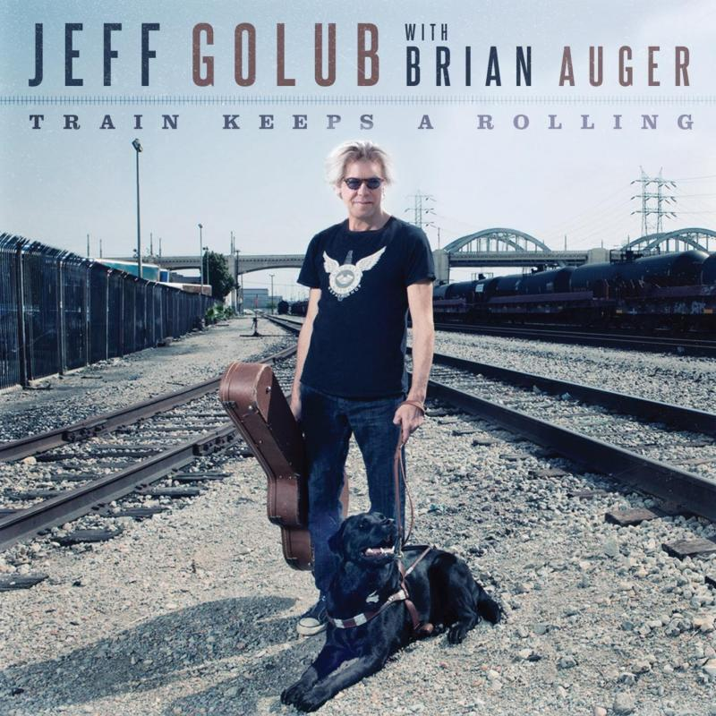 "<font color=""red""><strong>Jeff Golub With Brian Auger/Train Keeps A Rollin/eOne</strong></color><font color=""black""><br>2 huge talents make a Soulful, Jazzy, Bluesy CD covering Mose Allison, Curtis Mayfield & Sting plus original material! </color>"