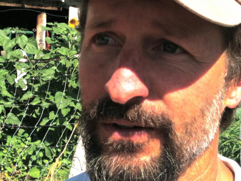 Jason Beason of the Rocky Mountain Bird Observatory and Rain Crow Farm