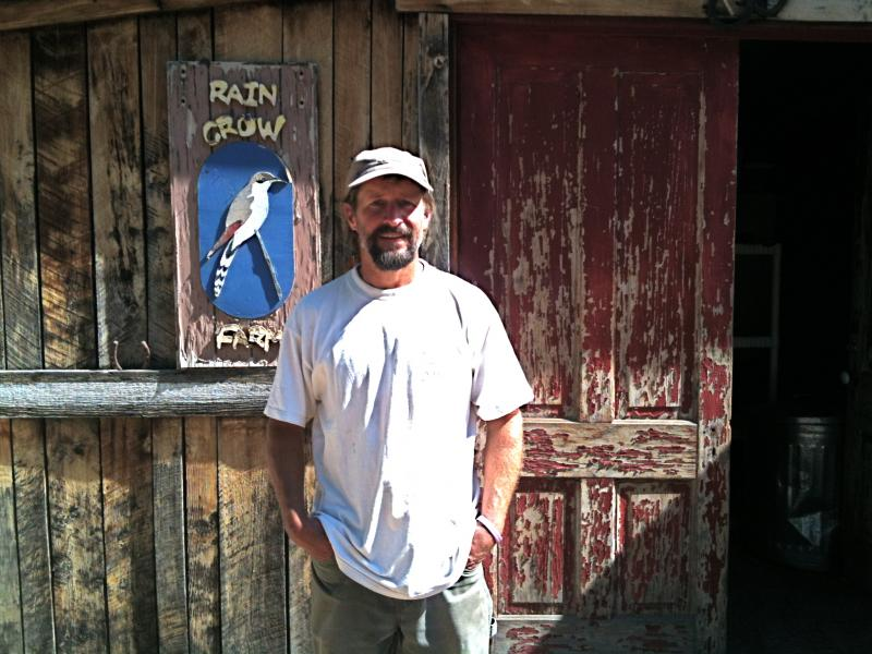 Jason Beason of the Rocky Mountain Bird Observatory and Rain Crow Farm