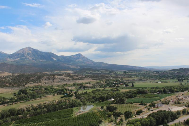 Mt. Lamborn, as seen from Garvin Mesa