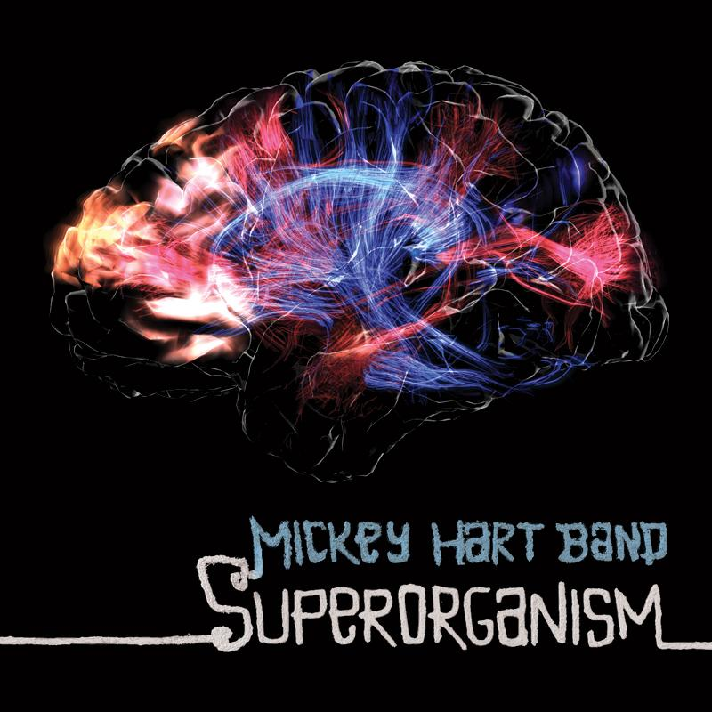 "<font color=""red""><strong>Mickey Hart Band/Superorganism/360 Degrees</strong></color><font color=""black""><br>""This time we journey into the micro, the hidden worlds of rhythm within us, within our bodies...""</color>"
