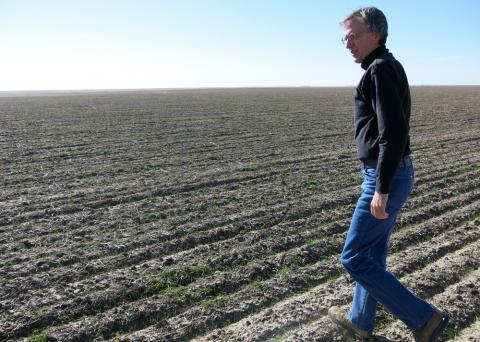 Doug Schmale, a wheat farmer from Lodgepole, Neb., is worried that a merger between two top wheat millers will leave farmers without enough choice.