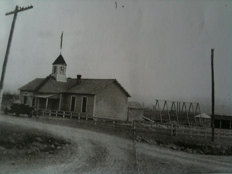 The Hurst School, shortly after it was built