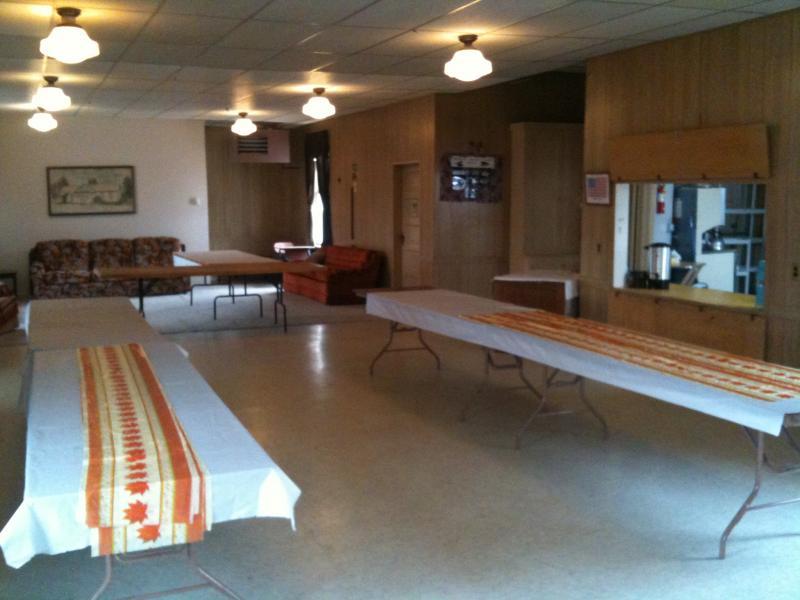 Inside the Community House