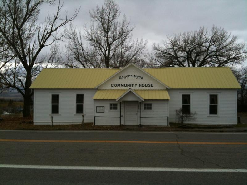 The Rogers Mesa Community House today