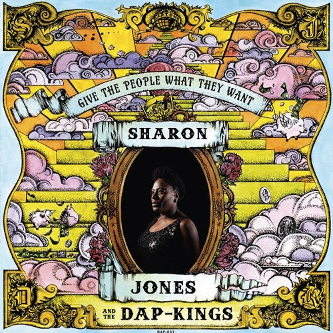 "<font color=""red""><strong>Sharon Jones & Dap-Kings/Give The People What They Want/DapTone</strong></color><font color=""black""><br>Wow! Positively the Best! The Hottest! Get up and Dance!"
