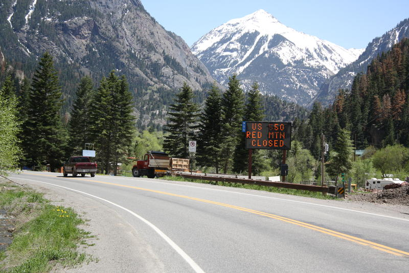 Highway 550, Red Mountain Pass, Ouray