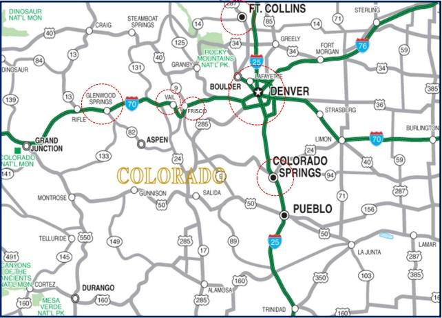 CDOT, Colorado Department of Transportation, interregional bus service