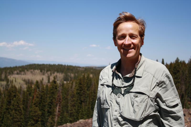 Andres Aslan is a geologist and professor at Colorado Mesa University.