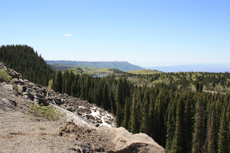 The Grand Mesa was formed 10 million years ago by volcanic activity and erosion.