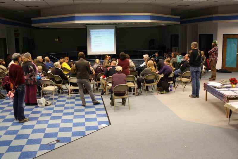 Paonia Elementary, Public Meeting, Waldorf School