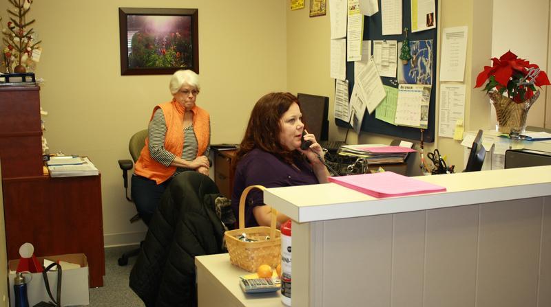 Hilltop's Health Access, office