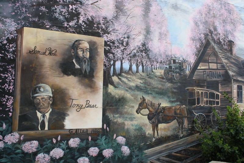 paonia mural, samuel wade