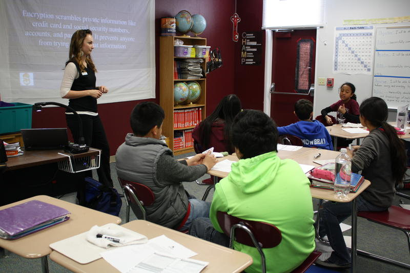 financial literacy, Centennial Middle School, sixth-grade, students