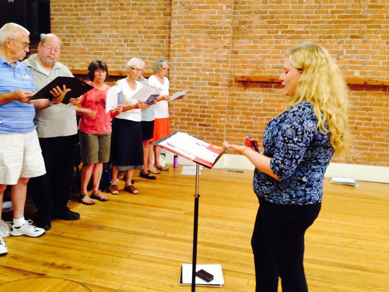 Stephanie Helleckson, North Fork Community Chorus