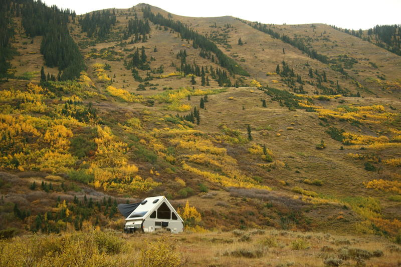 crested butte, camping