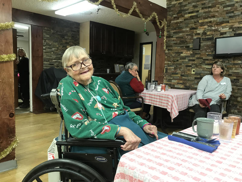 Clarice Fletcher, Paonia Care, Christmas 2018