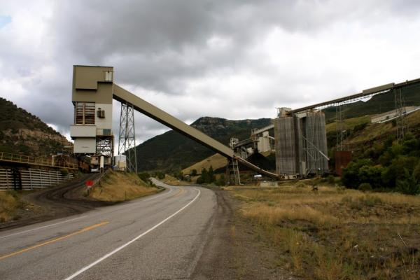 One of the North Fork Valley's three mining operations