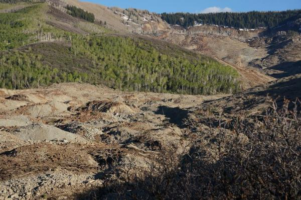 Collbran, Landslide, West Salt Creek Mudslide