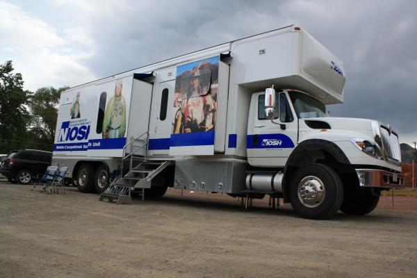 black lung mobile screening unit