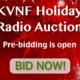 KVNF Holiday Auction 2014