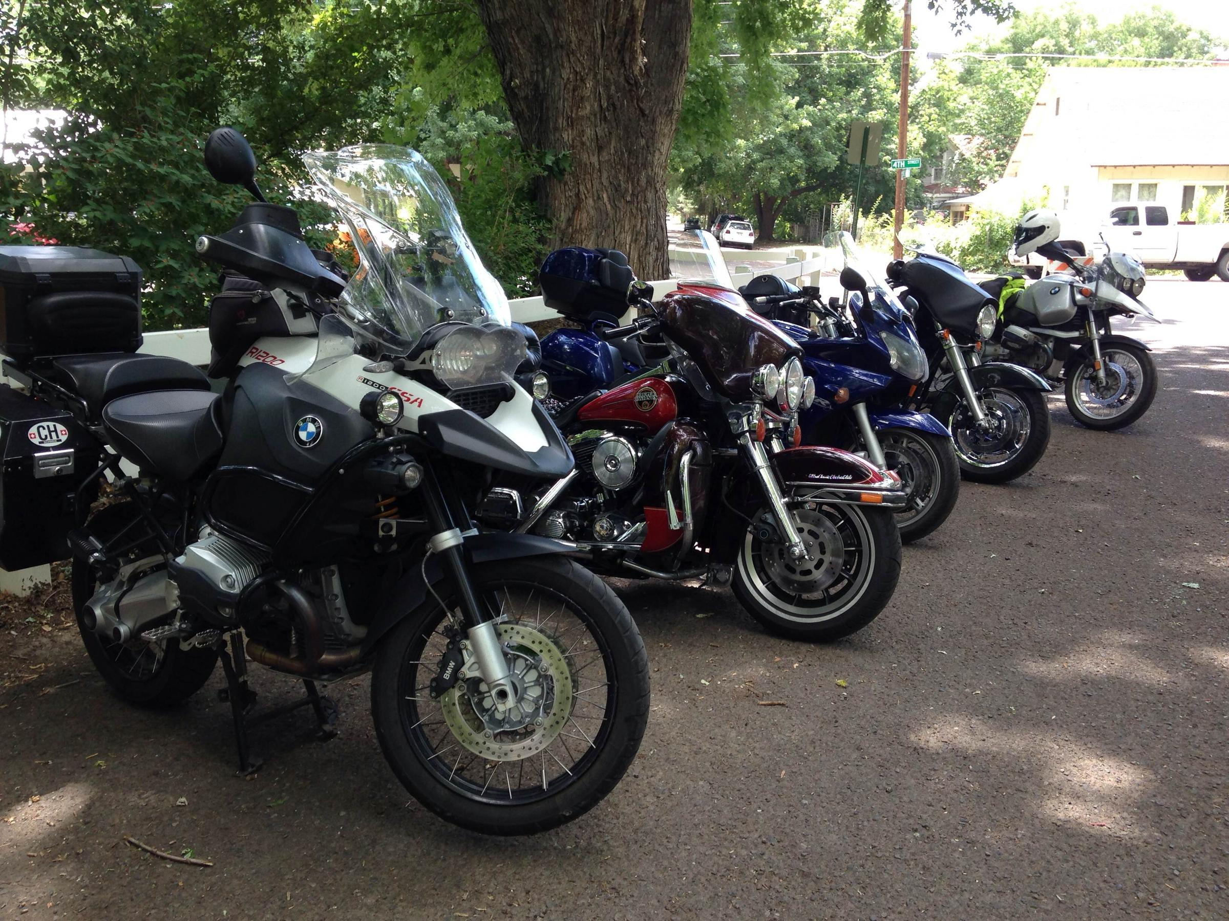 Hundreds Of Bikers Flock To Paonia For BMW Motorcycle Rally