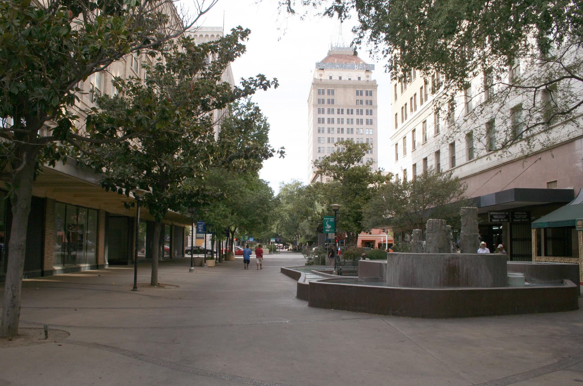 Fulton Mall Fresno CA
