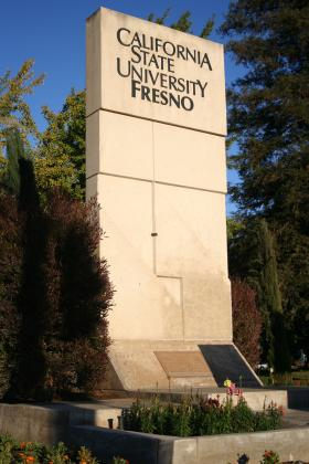 Fresno State, one of the CSU system's 23 campuses