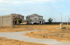 Homes in Merced, one of areas of the country hid hardest by the foreclosure crisis