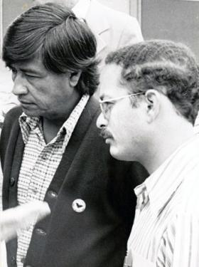 Cesar Chavez & Marc Grossman