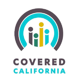 The logo for California Covered, the state's new health benefit exchange.
