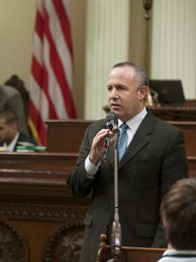 Senate President pro Tem Darrell Steinberg (file photo)