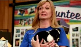 Beth Caffrey, director of community relations for the Central California SPCA