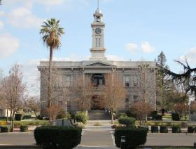 The historic Madera County Courthouse