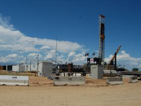 In Colorado, fracking operations are underway. (file photo)