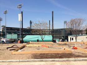 The community garden unveiling will be held on opening day, April 4, at Chuckchansi Park.