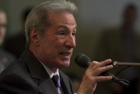 Democratic Assemblyman Tom Ammiano says the TRUST Act will prevent immigrants from being deported for relatively minor infractions. (file photo)