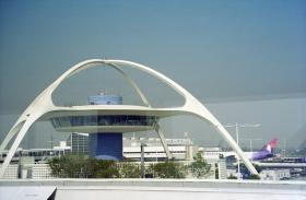 Los Angeles International Airport's Theme Building (file photo)