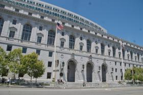 The California Supreme Court Building in Sacramento (file photo)