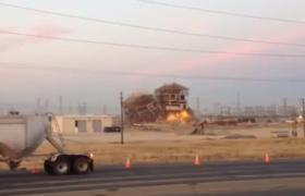 A YouTube video by user Doug Winston captures the explosion at the plant in Bakersfield