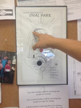 Oval Park supporters hope that the park will see better days and an improved look including a new playground and more.