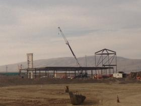 The Outlets at Tejon Ranch are expected to be finished in mid 2014.