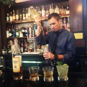 Trevor Hickman of Fresno's Piazza Del Pane uses Bowen's Whiskey regularly in three drinks.