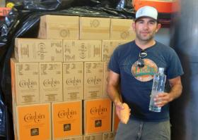David Souza creates vodka from the excess sweet potatoes from his family farm
