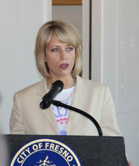Fresno Mayor Ashley Swearengin (file photo)