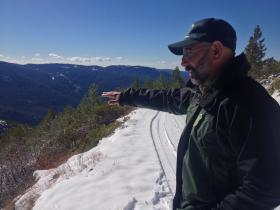 Ramiro Rojas has spent over 25 years in the Sierra foresting.