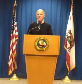 Governor Jerry Brown paid a visit to Fresno to talk with farmers and local leaders about his budget plan.