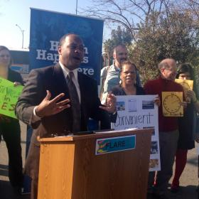 Fresno Council Member Oliver Baines is a supporter of Bus Rapid Transit.